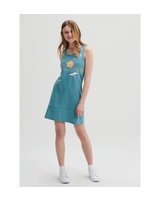 MESSAGE FACTORY MESSAGE FACTORY ROBE ZAHARA TEAL