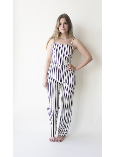 RD INTERNATIONAL RD INTERNATIONAL JUMPSUIT BLANC/NOIR