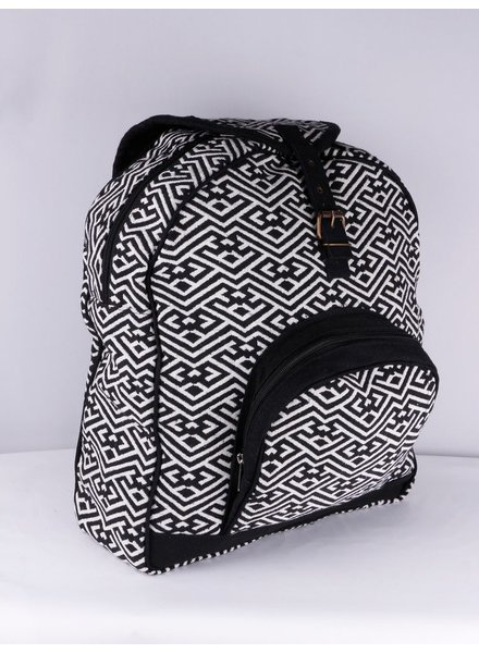 SHANTI BLACK BAG BACKPACK ANKARA 189