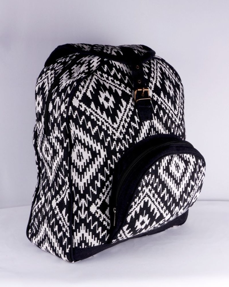 SHANTI BLACK BAG BACKPACK ANKARA 191