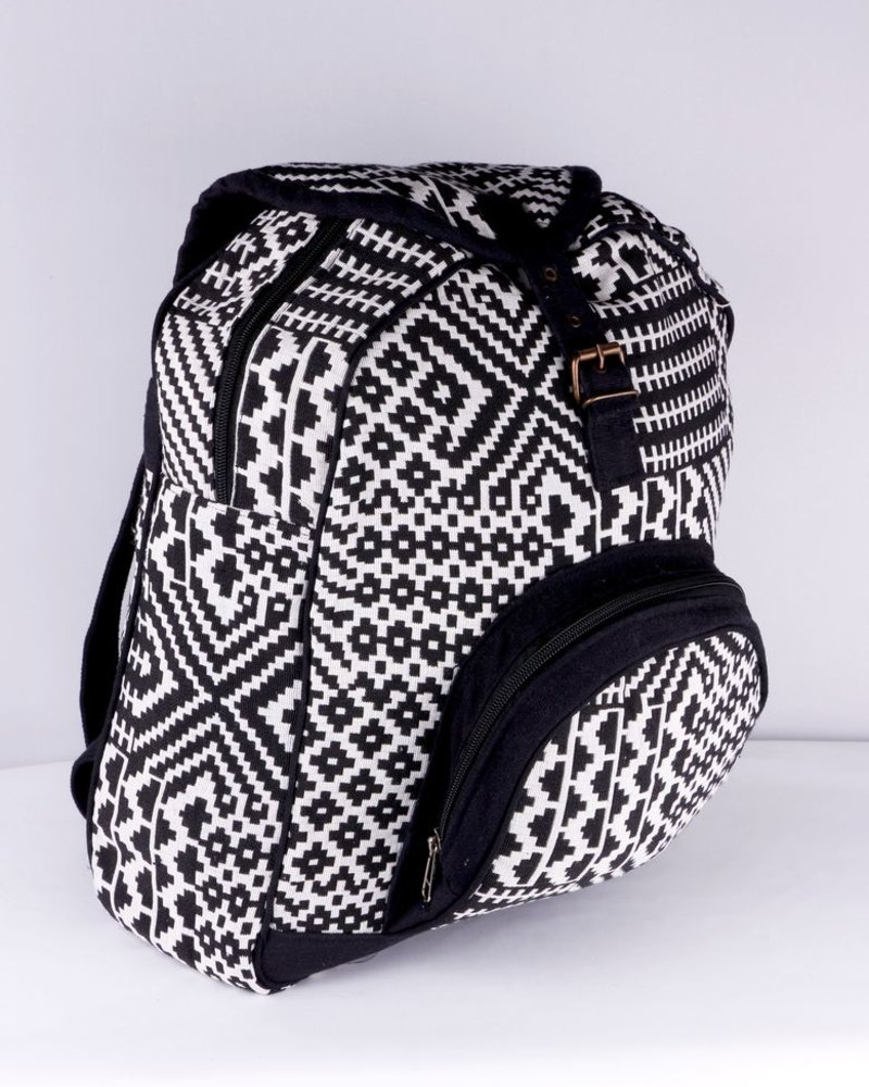 SHANTI BLACK BAG BACKPACK ANKARA 188