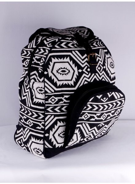SHANTI BAG BACKPACK ANKARA BLACK 190