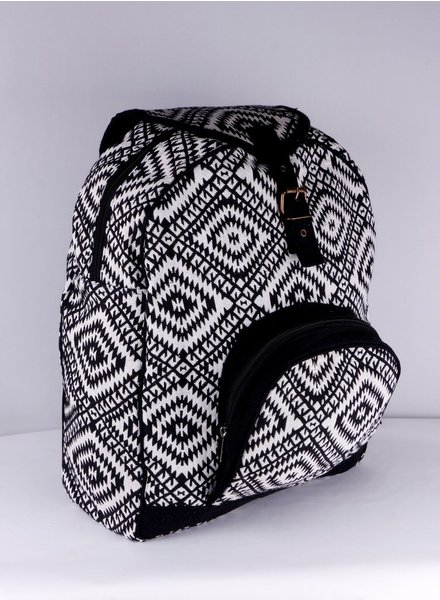 SHANTI BLACK BAG BACKPACK ANKARA 186