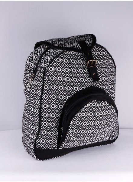 SHANTI BLACK BAG BACKPACK ANKARA 185