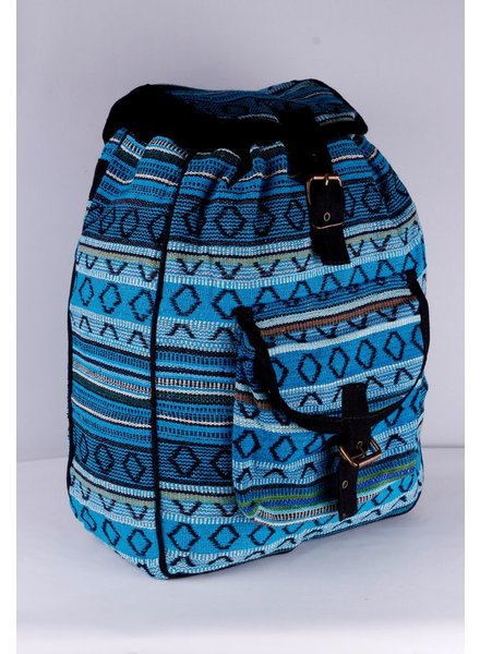 SHANTI BAG BACKPACK DAKAR 489 Turquoise