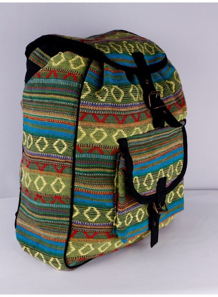 SHANTI BAG BACKPACK DAKAR GREEN 485