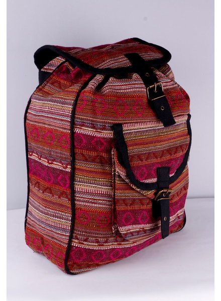 SHANTI BAG BACKPACK DAKAR 481 BURGUNDY