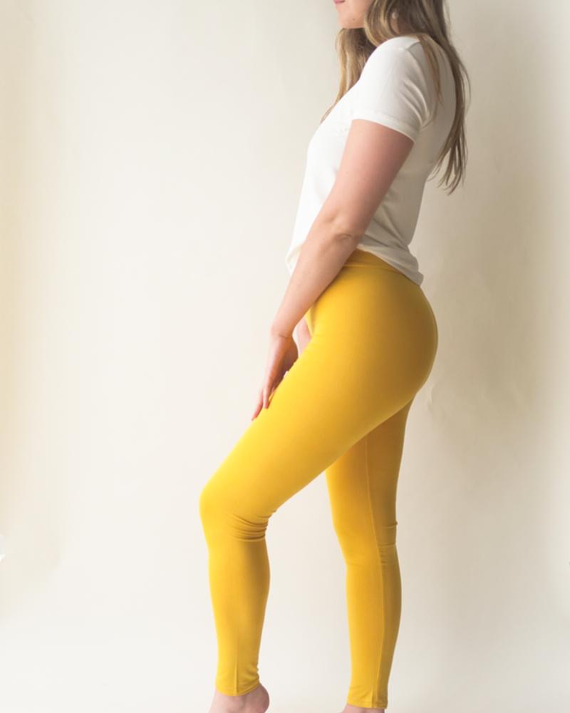 VIVA LEGGING CLOTILDE  JAUNE