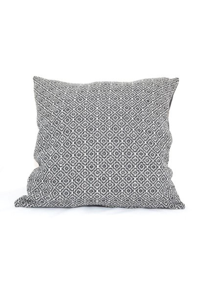 BALUCHON BALUCHON CUSHION FABRIC BLACK / WHITE GROUNDS