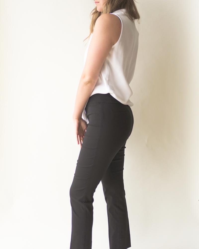 RENUAR RENUAR PULL ON ANKLE PANT BLACK/NOIR