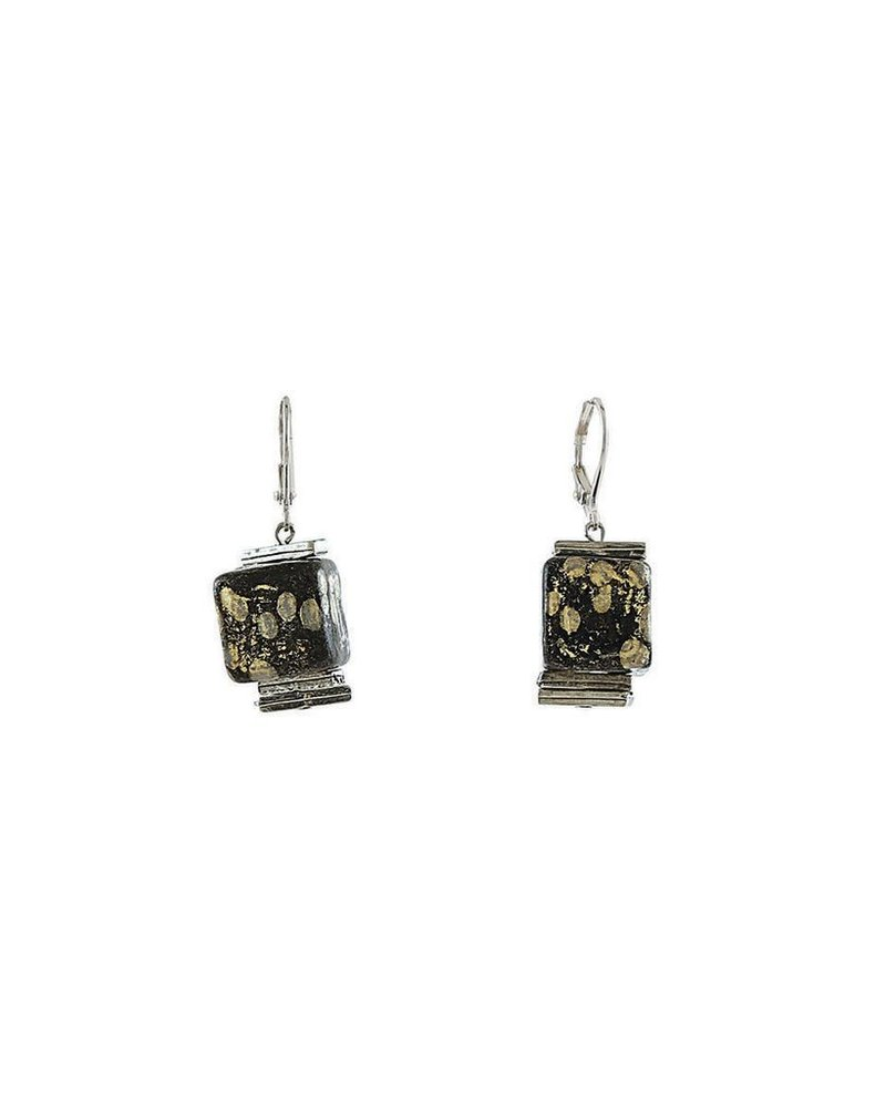 ANNE MARIE CHAGNON CHAGNON B. CAROLINE EAR BLACK / GOLD