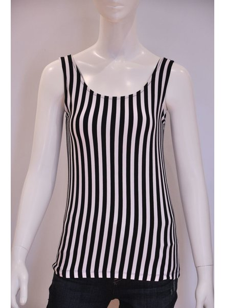 VIVA CAMI BASIC STRIPED O / S