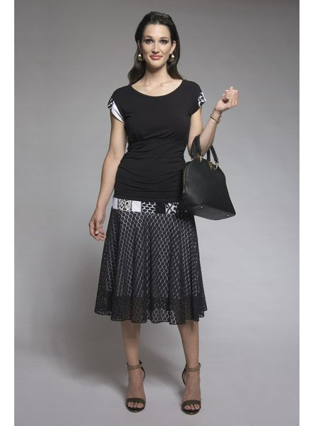MYCO ANNA MYCO CHANDAIL SYDNEY BLACK / WHITE