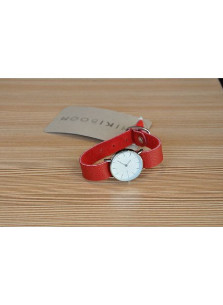 CHIKIBOOM CHIKIBOOM MONTRE BRACELET SIMPLE ROUGE