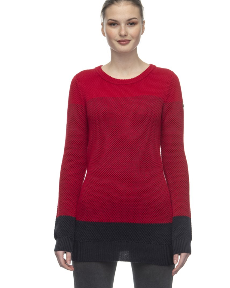 RAGWEAR RAGWEAR CHANDAIL LONG BAYLIE ROUGE