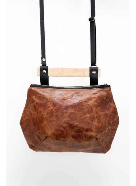 VEINAGE VEINAGE BAG RUBY BROWN RUST