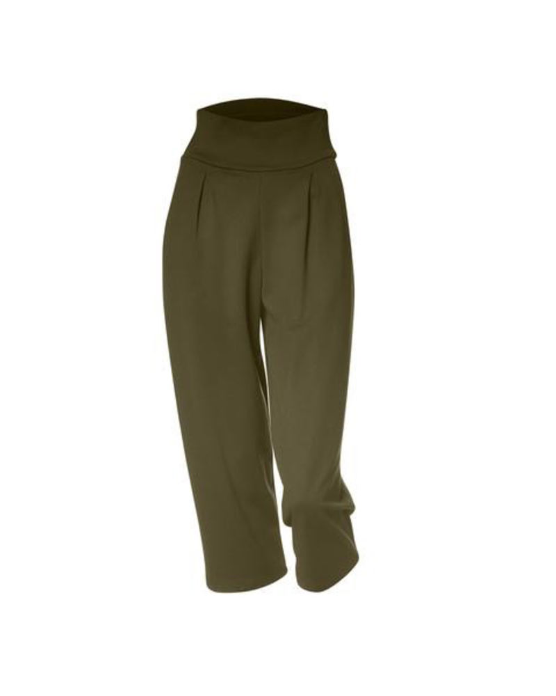 MELOW DESIGN MELOW PANTALON WILFRED ¾ AMPLE OLIVE