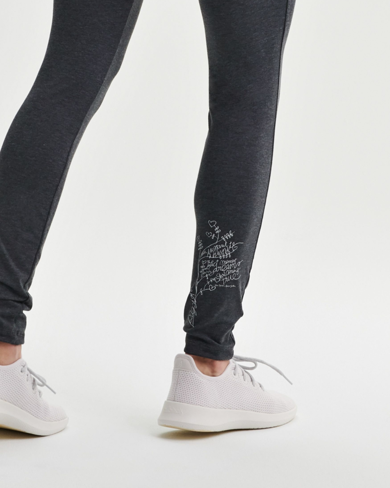 MESSAGE FACTORY MESSAGE FACTORY LEGGINGS MOON CHARCOAL