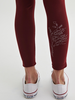 MESSAGE FACTORY MESSAGE FACTORY LEGGINGS MOON BOURGOGNE