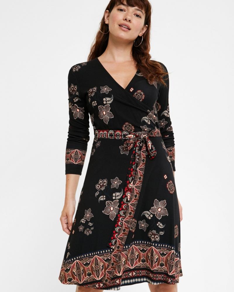 Desigual Desigual Robe Singapur Noir Boutique Nomade