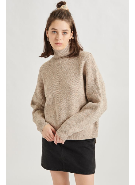 24 COLOURS 24 COLOURS CHANDAIL TURTLENECK BEIGE