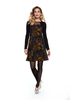 LUC FONTAINE LUC FONTAINE ROBE OBSESS NOIR