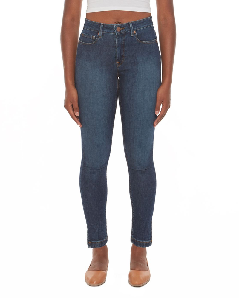 LOLA JEANS LOLA JEANS HIGH RISE SKINNY COOL STARRY NIGHT