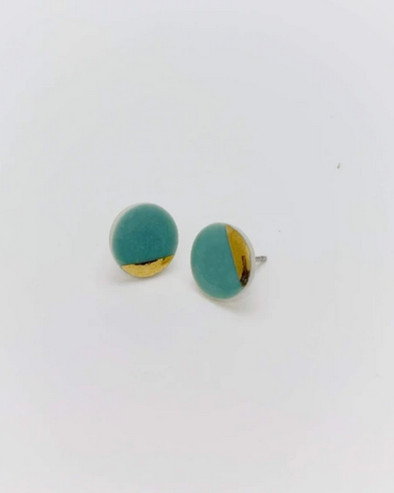 MABOUE MABOUE STUDS MABLING TURQUOISE ET OR