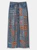 DESIGUAL DESIGUAL JUPE LONGUE AFRICAN AZAFATA JEANS