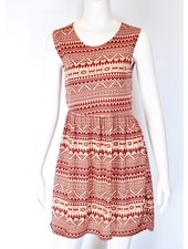 SOL ROBE MEXICO ROUGE