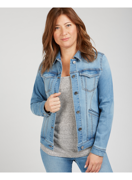 RENUAR RENUAR VESTE JEANS LIGHT BLUE