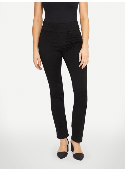 BLACK BULL BLACK BULL ZOE PULL-ON STRAIGHT LEG FIT NOIR