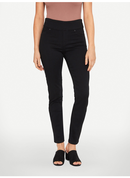 BLACK BULL BLACK BULL ZOE PULL-ON SUPER SKINNY FIT NOIR
