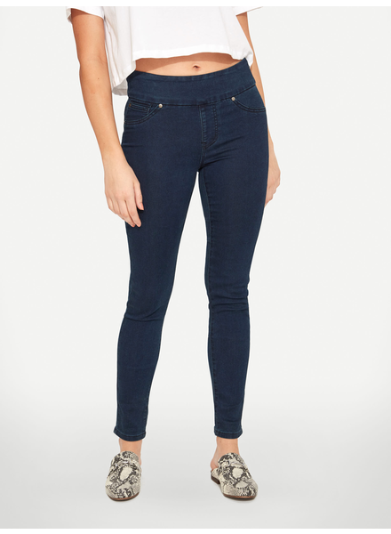 BLACK BULL BLACK BULL ZOE PULL-ON SUPER SKINNY FIT BLEU