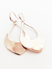 CARACOL CARACOL B. OREILLE GOUTTES MARTELLEES ROSE GOLD
