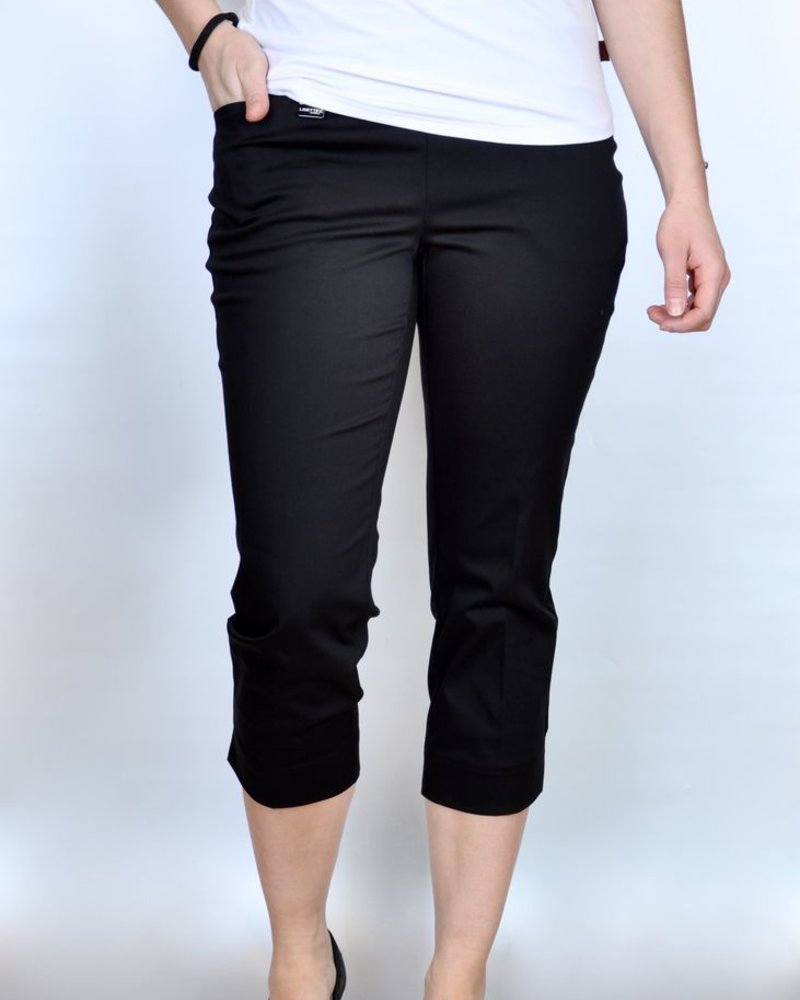 LISETTE CAPRI 21 ½ '' WITH POCKETS JUPITER FABRIC BLACK