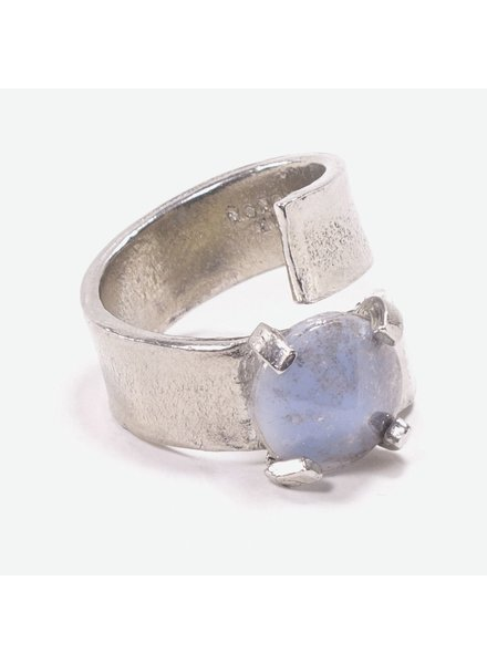 ANNE MARIE CHAGNON RING BORASCO BLUE SKY