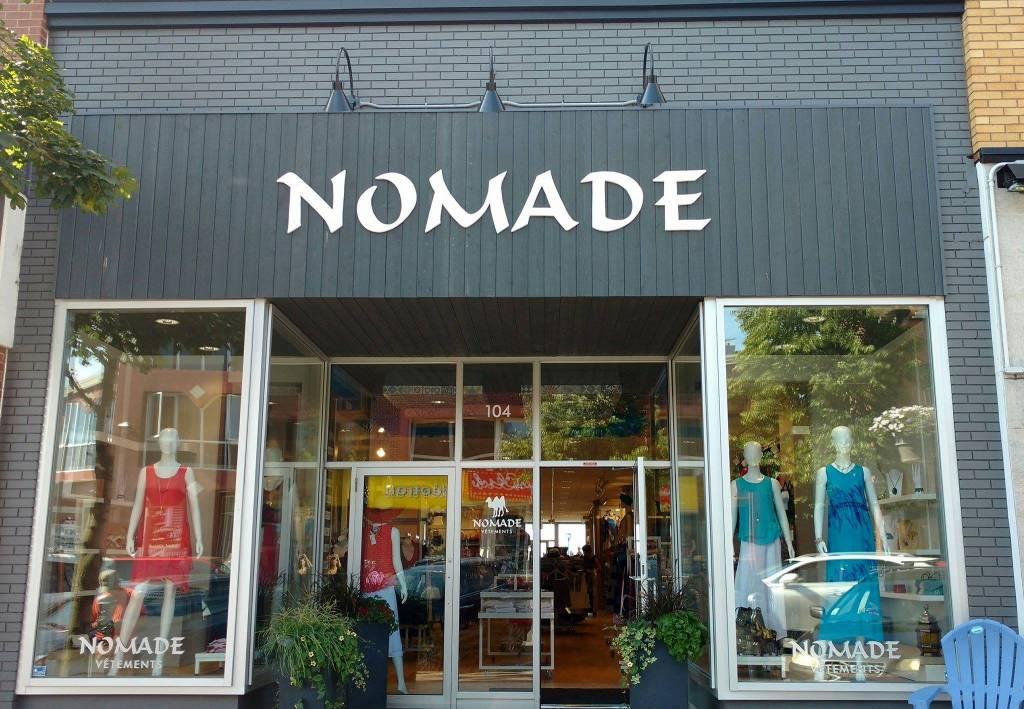 Le nouveau look de la boutique Nomade!
