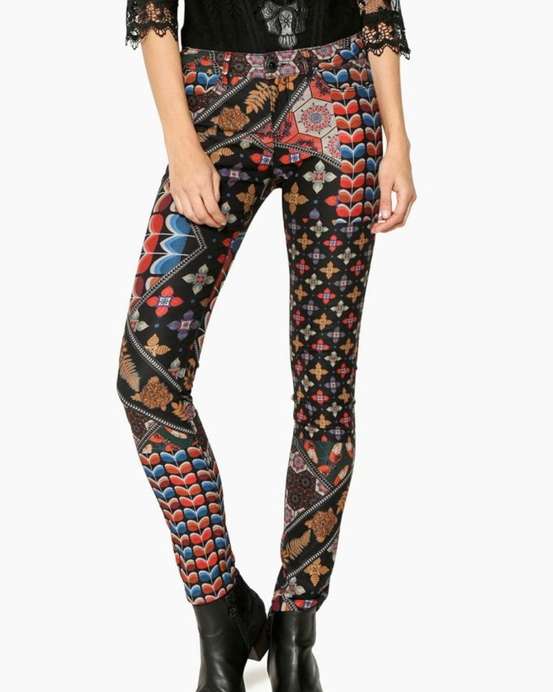 Desigual Holly Trousers Boutique Nomade Multi DHE2W9I