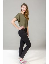 YOGA JEANS JEANS SKINNY PITCH BLACK / BLACK