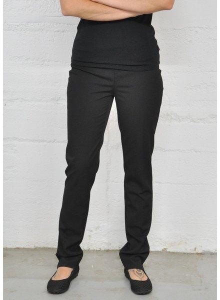 LISETTE PANTS CORE GABY FABRIC 31 '' SLIM BLACK