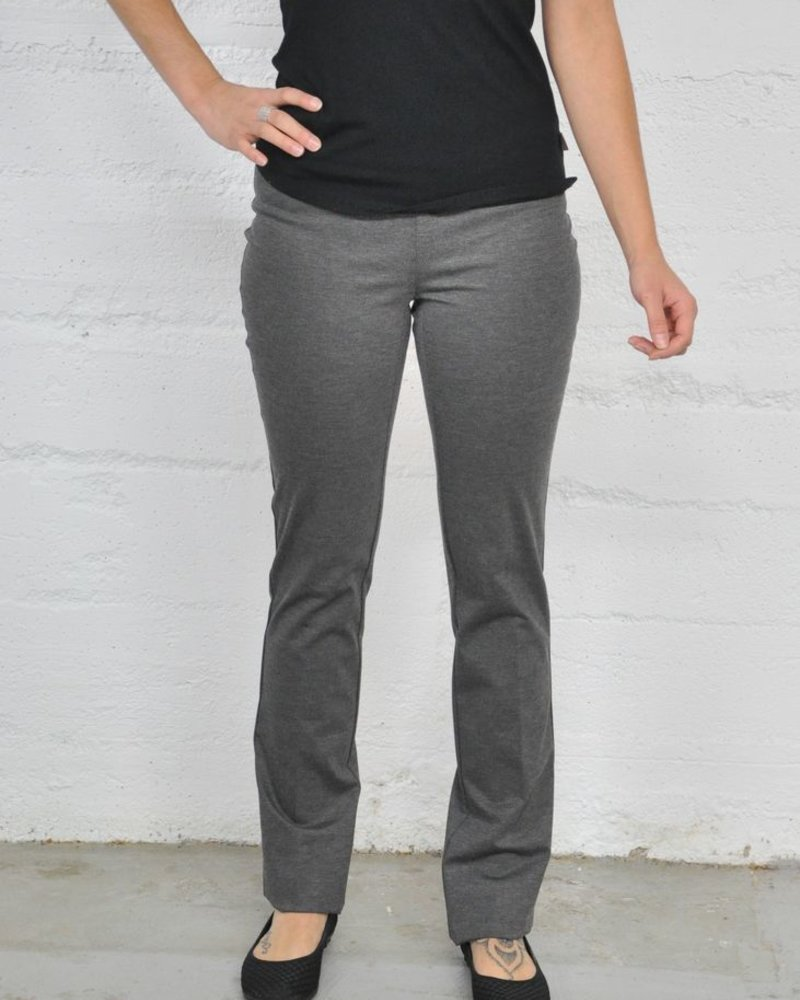 LISETTE CORE PANTS KATHRYNE FABRIC 33 '' STRAIGHT GRAY