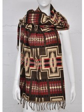 SCARF SHIMLA BROWN