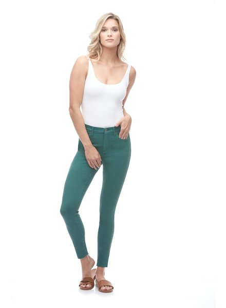 YOGA JEANS YOGA JEANS RACHEL CLASSIC RISE  ANKLE SEAWEED/VERT