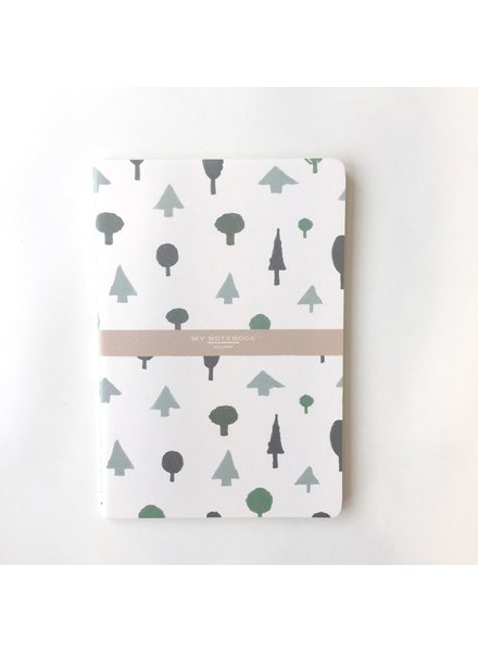 NOMADE CAHIER 5'' X 8'' LIGNÉ FORET