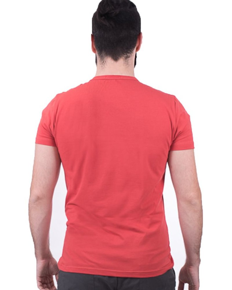 OOM OOM T-SHIRT HOMME PELOTON ORANGE