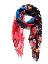 DESIGUAL DESIGUAL SCARF CALIFORNIA FRESH BLACK