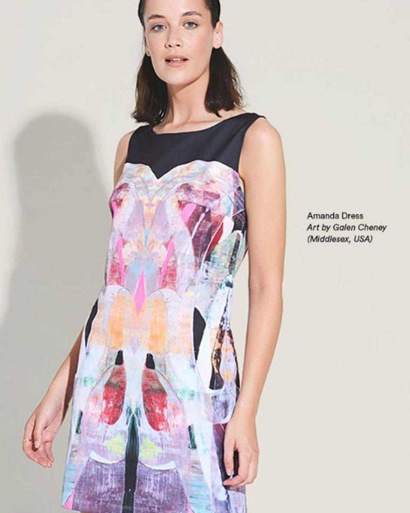LE GALERISTE LE GALERISTE DRESS AMANDA BY GALEN CHENEY USA