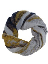 CARACOL CARACOL SCARF MURAILLE DE CHINE MUSTARD