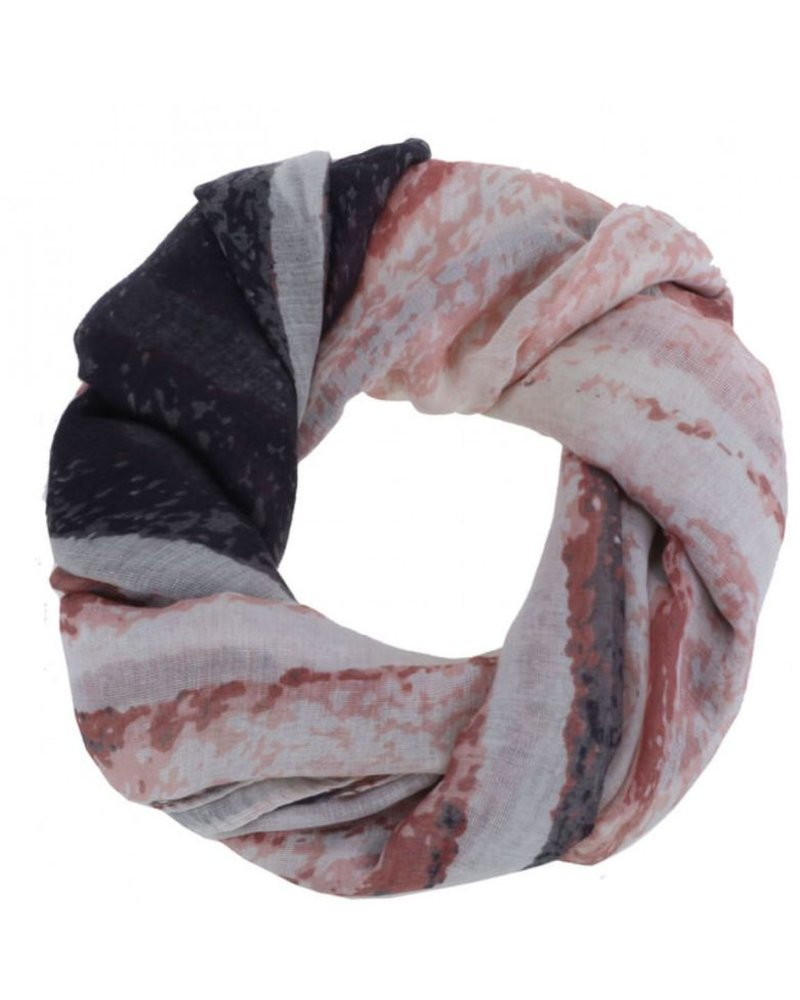 CARACOL CARACOL SCARF MURAILLE DE CHINE PINK